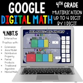 4th Grade Multiplication Up to 4 by 1 Digit 4.NBT.5 Google Classroom