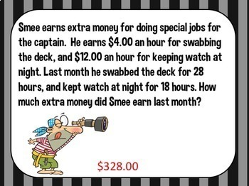 4th Grade Multiplication Word Problem Powerpoint