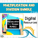 4th Grade Multiplication and Division BUNDLE