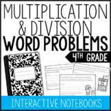 4th Grade Multiplication and Division Word Problems (Inter