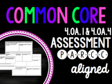 4th Grade Multiplicative Comparison Assessment