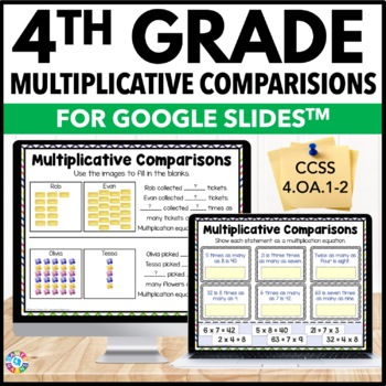 4th Grade Multiplicative Comparisons {4.OA.1, 4.OA.2} - Google Classroom