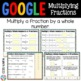 4th Grade Multiplying Fractions by Whole Numbers {4.NF.4} Google Classroom