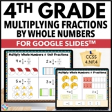 4th Grade Multiplying Fractions by Whole Numbers {4.NF.4}