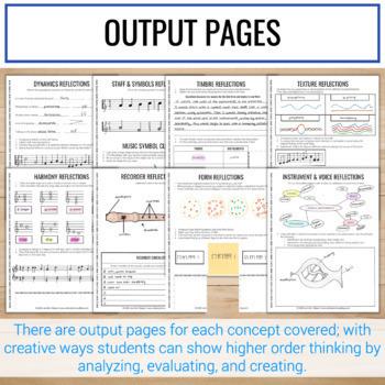 4th Grade Interactive Music Notebook