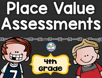 Place Value Tests 4th Grade