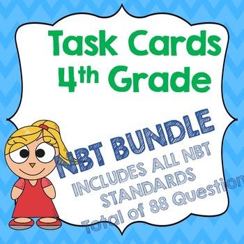4th Grade NBT Bundle Task Cards