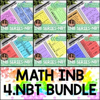 Numbers in Base Ten *GROWING BUNDLE* Grade 4 (Interactive Notebook Series)