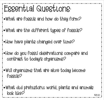 4th Grade NC Standards & Essential Questions 2018-19 Reading, Math, Science, SS