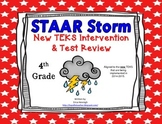 4th Grade NEW TEKS STAAR Storm Intervention & Test Review