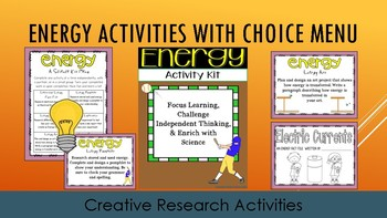 4th Grade NGSS Energy Bundle