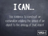 "4th Grade NGSS ""I Can"" Statements"