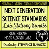 4th Grade NGSS Lab Stations Bundle