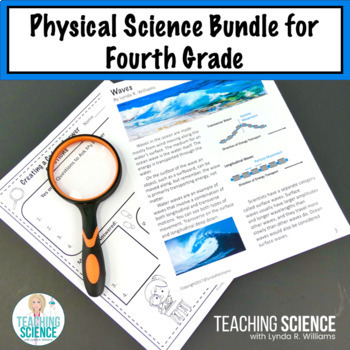 4th Grade NGSS Physical Science Bundle