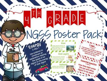 4th Grade NGSS Poster Set