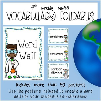 4th Grade NGSS Vocabulary