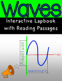 Waves Interactive Notebook or Lapbook