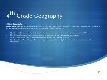 4th Grade NV Geography