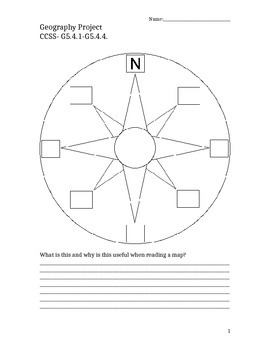 4th Grade NV Geography Student Packet