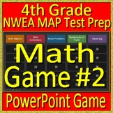 4th Grade NWEA MAP Math Test Prep Review Game Operations and Algebraic Thinking