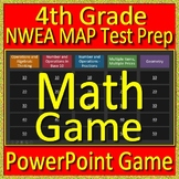 4th Grade NWEA MAP Math Test Prep Review Game test practice