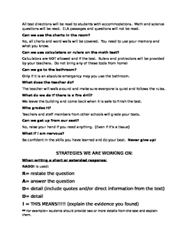 4th Grade NY State Test Information for Families