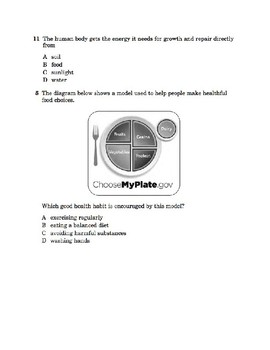 4th Grade NYC State Science Test Prep