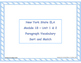 4th Grade NYS ELA Module 1B - Bundle - 3  Module Vocabular