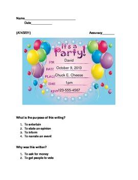 4th Grade NYSAA ELA (AT43221)