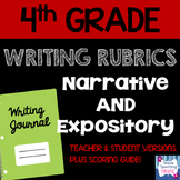 4th Grade Narrative & Expository Writing Rubrics and Scoring Guide