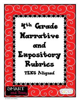 4th Grade Narrative and Expository Rubrics TEKS Aligned