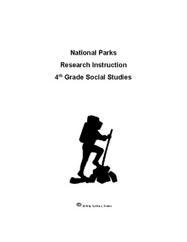 4th Grade National Parks Research Unit