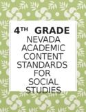 4th Grade Nevada Social Studies Standards Checklist