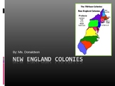 4th Grade-- New England Colonies - Overview