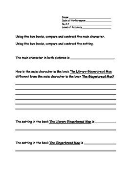 4th Grade New York Alternative Assessment ELA Standard RL4.7- Compare & Contrast