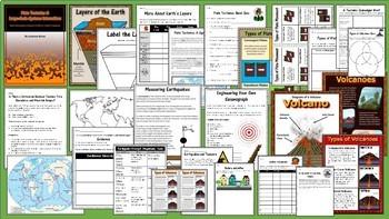 4th Grade Next Generation Science Earth Science Bundle