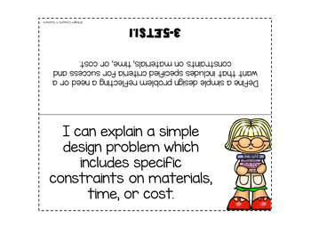 """4th Grade NGSS """"I Can"""" Standards Posters + Checklists"""
