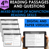 4th Grade Nonfiction Reading Comprehension - Google Classr
