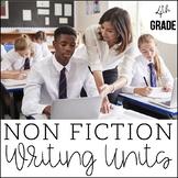 4th Grade Nonfiction Writing Bundle | Nonfiction Writing C