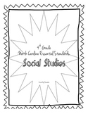 4th Grade North Carolina Essential Standards Social Studie