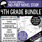 4th Grade Novel Study Bundle