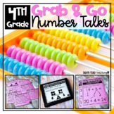 Number Talks 4th Grade Number Sense Activities MATH FLUENCY YEARLONG PROGRAM