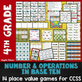 Place Value 4th Grade: 14 math games for Common Core