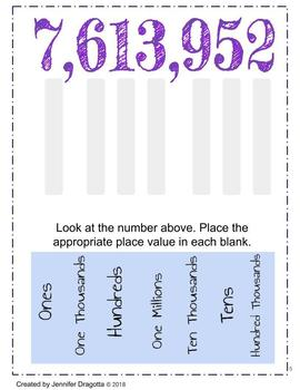 4th Grade Numbers and Operation Google Slides
