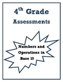 4th Grade: Numbers and Operations in Base 10 Common Core Aligned