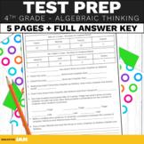 4th Grade Math Test Prep Operations and Algebraic Thinking Standards