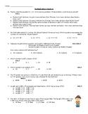 4th Grade OA assessment