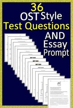 5th Grade Ohio AIR Test Prep Practice Tests for English Language Arts