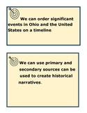 4th Grade Ohio Learning Standards- Social Studies History Strand UNIT