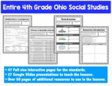 4th Grade Ohio Social Studies - Entire Year
